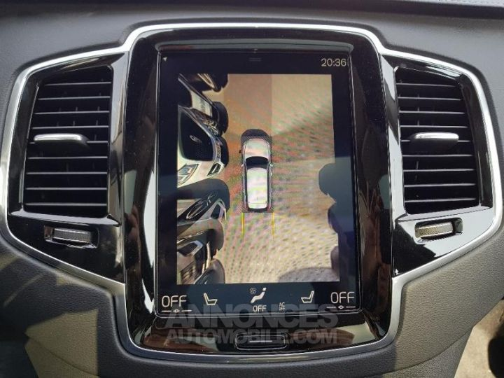 Volvo XC90 D5 AWD AdBlue 235ch Inscription Luxe Geartronic 7 places blanc cristal Neuf - 9