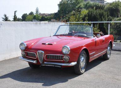 Vente Alfa Romeo 2000 TOURING SPIDER Leasing