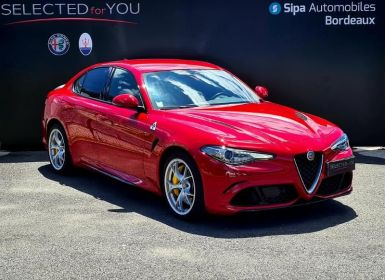 Vente Alfa Romeo Giulia 2.9 V6 510ch Quadrifoglio AT8 4places Occasion