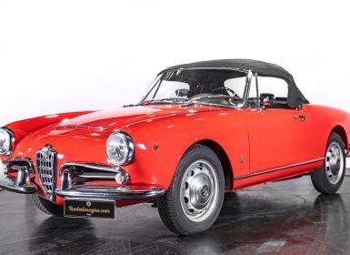 Vente Alfa Romeo Giulia SPIDER - 1962 Occasion