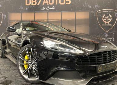 Achat Aston Martin VANQUISH CABRIOLET 6.0 V12 576 Occasion