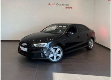 Achat Audi A3 Berline 2.0 TFSI 190 S tronic 7 Design Luxe Occasion