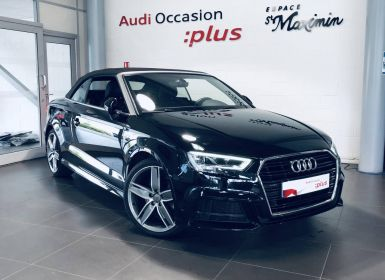 Vente Audi A3 Cabriolet 1.5 TFSI CoD 150 S tronic 7 S Line Occasion