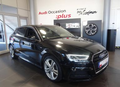 Acheter Audi A3 Sportback 2.0 TDI 150 S tronic 7 S Line Occasion
