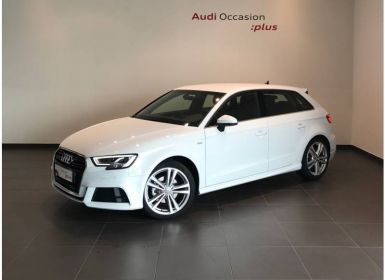 Voiture Audi A3 Sportback 35 TFSI CoD 150 S tronic 7 S line Occasion