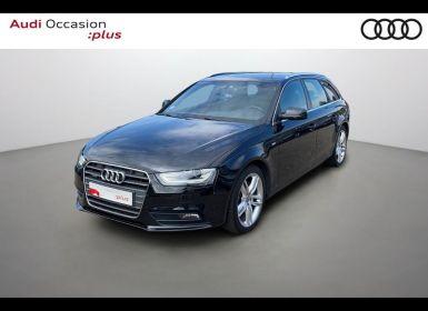 Vente Audi A4 Avant 2.0 TDI 177ch DPF S line quattro S tronic 7 Occasion