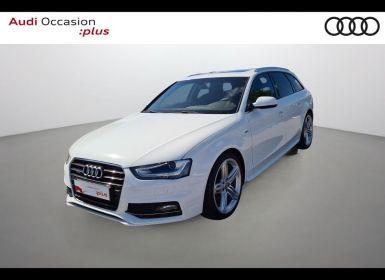 Achat Audi A4 Avant 2.0 TDI 190ch S line quattro S tronic 7 Occasion