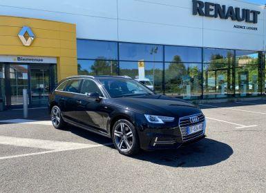 Achat Audi A4 Avant AUDI A4 AVANT 150CV S LINE NOIR NACRÉE Occasion