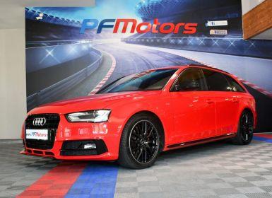Vente Audi A4 Avant S-Line 2.0 TDI 190 GPS Hayon Cuir Alcantara Régulateur Xénon LED Black Panel JA 18 Occasion