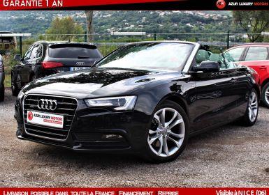 Vente Audi A5 211 S LINE QUATTRO CABRIOLET  Occasion