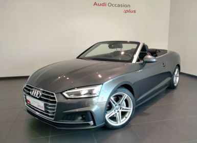 Achat Audi A5 Cabriolet 2.0 TDI 190 S tronic 7 Quattro S line Occasion