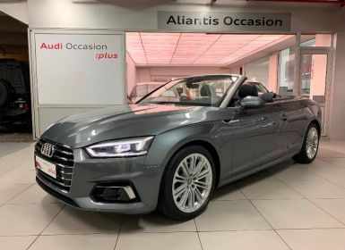 Acheter Audi A5 Cabriolet 2.0 TFSI 190ch Design Luxe S tronic 7 Occasion
