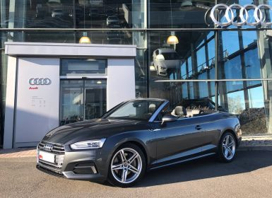 Achat Audi A5 CABRIOLET Cabriolet 2.0 TFSI 252 Quattro S tronic 7 S Line Occasion