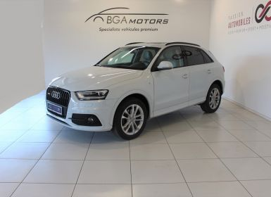 Voiture Audi Q3 2.0 TDI 140CH AMBITION LUXE QUATTRO S TRONIC 7 Occasion