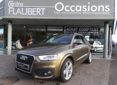 Voiture Audi Q3 2.0 TDI 140CH S LINE Occasion