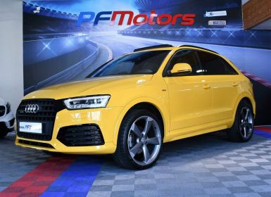 Vente Audi Q3 S-Line Ambition Luxe 2.0 TDI 184 Quattro S-Tronic GPS TO Cuir électrique BOSE Hayon LED JA 20 Rotor Occasion