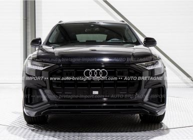 Voiture Audi Q8 50 TDI 286Ch S LINE FULL OPTIONS (Pano, air suspension, HdUp, B&O, Matrix LED, cuir, 360, pack black...) 2019 Occasion