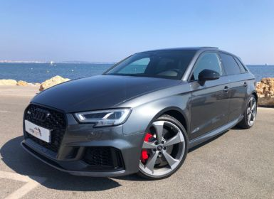 Achat Audi RS3 2.5 TFSI 400CH QUATTRO S TRONIC 7 EURO6D-T Occasion
