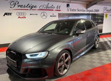 Achat Audi RS3 400 cv Gtie 09 2023 Française 1ère Main Occasion