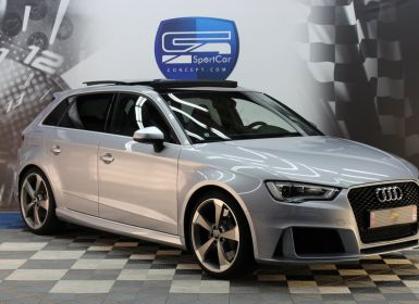 Achat Audi RS3 AUDI RS3 2.5 TFSI 367CH / Toit ouvrant / Suspensions Magnetic Ride / Sièges Sport S / GPS Occasion