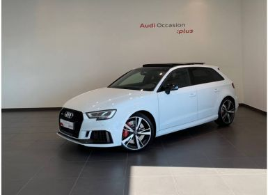 Achat Audi RS3 Sportback 2.5 TFSI 400 S tronic 7 Quattro Occasion