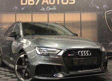 Vente Audi RS3 SPORTBACK 2.5 TFSI 400 S tronic 7 Quattro Occasion