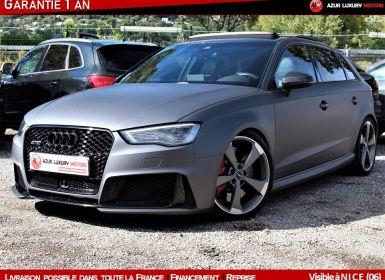 Vente Audi RS3 SPORTBACK 367 QUATTRO Occasion