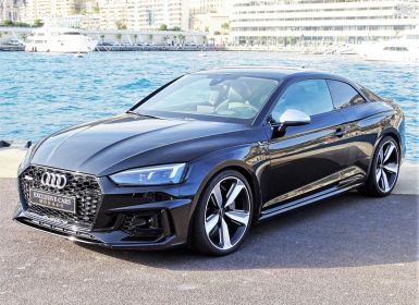 Voiture Audi RS5 COUPE QUATTRO 2.9 TFSI 450 CV BLACK EDITION - MONACO Occasion