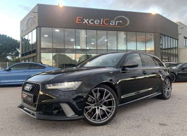 Voiture Audi RS6 AVANT 4.0 TFSI 605 PERFORMANCE QUATTRO TIPTRONIC Occasion