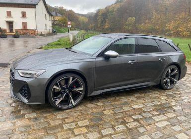 Audi RS6 Avant 4.0 TFSi quattro, Toit panoramique, ACC, Caméra 360°, Attelage, MALUS PAYÉ