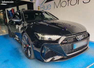 Vente Audi RS6 Avant 4.0 V8 Bi-Turbo 2000km 2021 Occasion