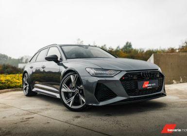 Vente Audi RS6 Avant 4.0 V8 *CERAMIC* DYNAMIC PLUS* Daytona grey Occasion