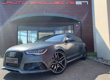 Achat Audi RS6 AVANT QUATTRO 560 cv AUDI EXCLUSIVE FULL Occasion