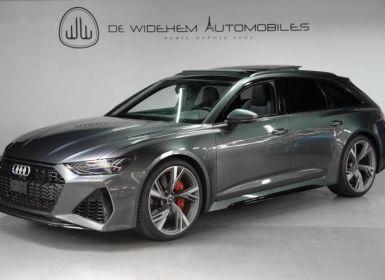 Vente Audi RS6 C8 Occasion