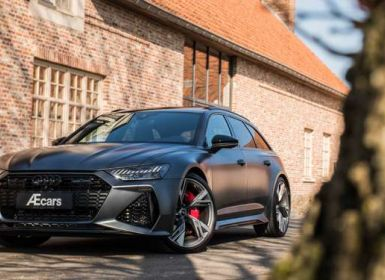 Achat Audi RS6 LASER - LIGHT UTILITY - BELGIAN - 1 OWNER Occasion