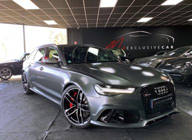 Vente Audi RS6 Performance 605 Ch (phase 2) - Révisée 2021 - Garantie 12 Mois - Régul. Adaptatif, Pack Design, Attelage, Quattro Sport, VMax 280, ... Occasion