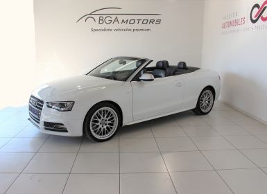 Voiture Audi S5 CABRIOLET 3.0 V6 TFSI 333CH QUATTRO S TRONIC 7 Occasion