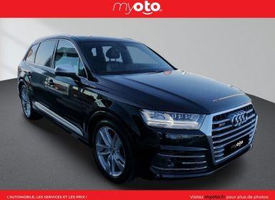 Vente Audi SQ7 4.0 V8 TDI 435CH CLEAN DIESEL QUATTRO TIPTRONIC 7 PLACES Occasion