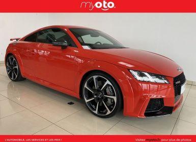 Vente Audi TT RS 2.5 TFSI 400CH QUATTRO S TRONIC 7 Occasion