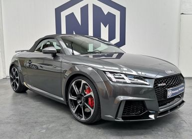 Vente Audi TT RS III (2) ROADSTER 2.5 TSI 473ch QUATTRO S TRONIC 7 - CG FR - STAGE 1 / KW / CARBOPAD / EBC Occasion