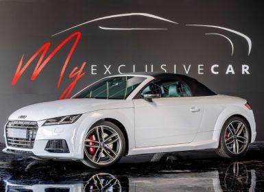 Vente Audi TTS Cabriolet 2.0 TFSI 310 Ch S-Tronic Quattro - Sièges Sport S, Caméra, HiFi B&O, Matrix LED - Carnet 100% AUDI, Révisé 03/2021 - 611 €/mois à Crédit Occasion