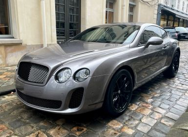 Achat Bentley Continental GT Supersports 4 Places Occasion