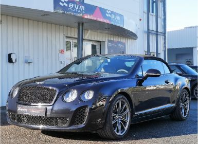 Vente Bentley Continental GTC 2 6.0 W12 630 SUPERSPORTS Occasion