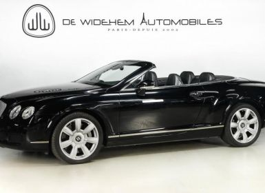 Vente Bentley Continental GTC CABRIOLET 6.0 W12 BI TURBO 560 TIPTRONIC Occasion