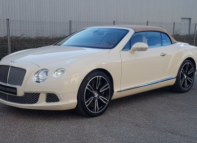 Vente Bentley Continental GTC CONTINENTAL GTC CABRIOLET 6.0 W 12 -575 CH -MULLINER Occasion