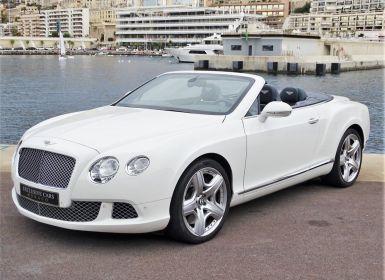 Voiture Bentley Continental GTC II CABRIOLET W12 575 CV MULLINER - MONACO Occasion