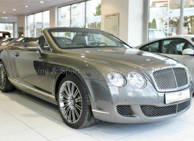 Achat Bentley Continental GTC SPEED Occasion