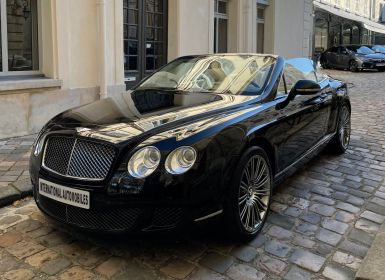 Vente Bentley Continental GTC SPEED V12 Occasion