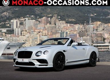 Vente Bentley Continental GTC Supersport Occasion