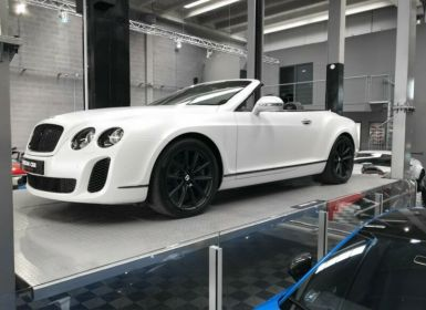 Vente Bentley Continental GTC Supersports 6.0 630 W12 Occasion